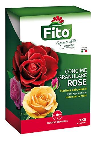 Fito Concime Rose Granulare, Verde, 1 kg