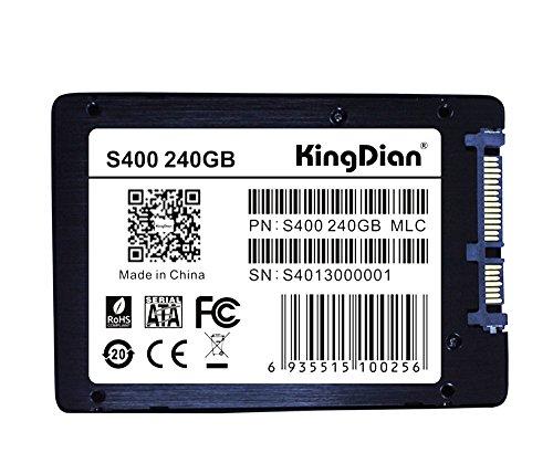 """KingDian S280 2,5\"""" intern SSD 240GB SATA III MLC bis 560MB/s L 422MB/s"""