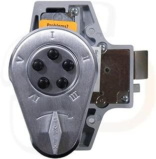 Kaba 9190000-26D-41 Auxiliary Lock with Thumbturn 5/8 Sl/Hb 26D, Satin Chrome