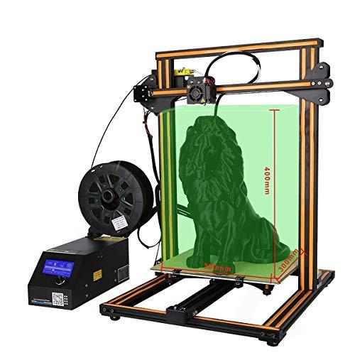 ZIHENGUO Imprimante 3D CR-10S, kit d'impression de Bureau à Monter soi-même, avec Moniteur de Filament et Deux vis-mères, Grande Taille d'impression 300x300x400 mm,Orange