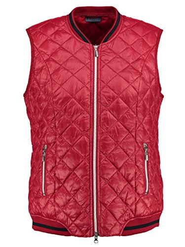 Samoon Damen be Fabulous Outdoor Weste, Rot (Scarlet 60575), 44