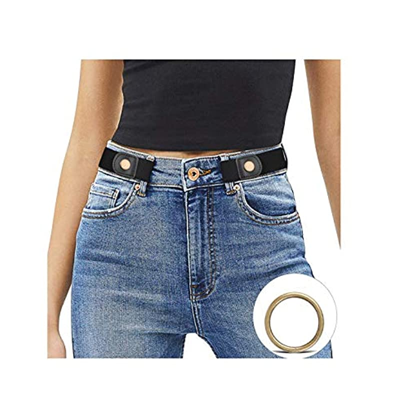 Buckle free Women Stretch Belt for Women/Men, Plus Size No Buckle Invisible Belts for Jeans Pants by WHIPPY