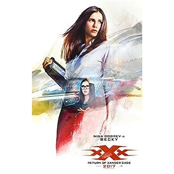 xXx Return of Xander Cage Nina Dobrev is Becky Montage Promo 8 x 10 Inch Photo
