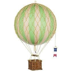 エアバルーン・モビール 気球 Travels Light, 約18cmバルーン (緑) [並行輸入品]