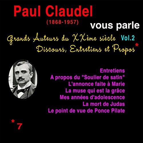 Couverture de Paul Claudel vous parle