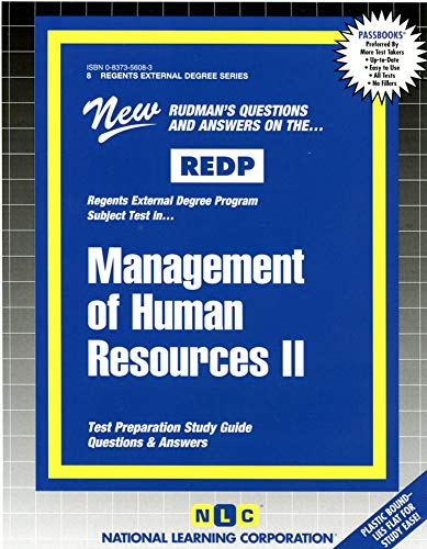 Management of Human Resources II PDF Books