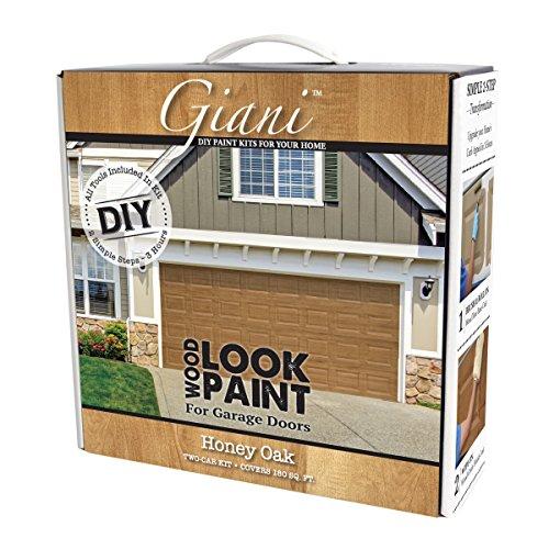 Wood Look Paint Kit for Garage Doors (Honey Oak)