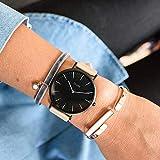 Cluse Damen-Armbanduhr Analog Quarz Leder - 2
