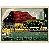 Nbqwdd Deutschland Reisen Wandkunst Bilder Poster Konstanz