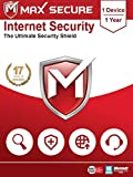 Max Secure Internet Security Platinum | 1 PC 1 Year | Windows |