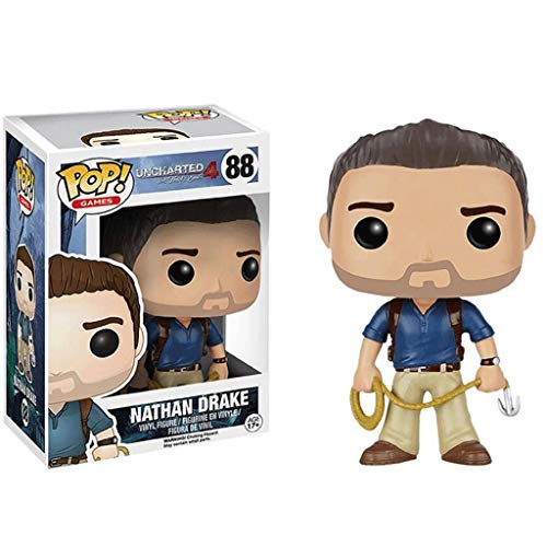 LLFX POP Figuren Uncharted-Serie: Nathan Drake Figur Vinyl Sammlerpuppe Ornamente Dekoration for Boys