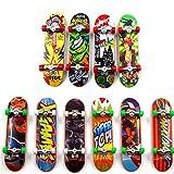 Yanhonin 2Pcs Skateboard De Doigt, Professionnel Planche À roulettes Doigt, Cadeau Jouet Enfant