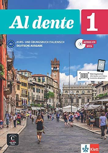 Al dente 1 (A1): Deutsche Ausgabe. Kurs- und Übungsbuch + Audio-CD + DVD
