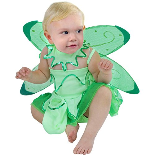 Infant Baby Girl Tinkerbell Costume (6-18 Months) Green