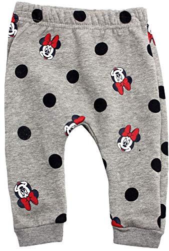 Disney Minnie Mouse Baby Mädchen Poka Dots Jogginghose Gr. 24 Monate, grau