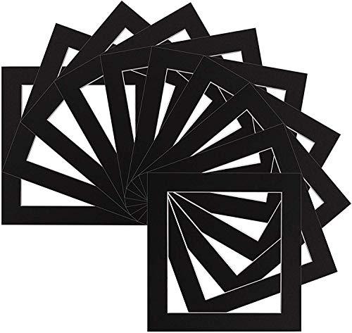 Außen für Bildgröße 30 x 40cm 20 x 30cm 10 Stück Premium Passepartouts