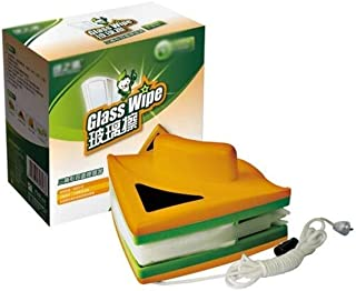 YGWG Glass Cleaning Equipment Single-sided Glass Cleaner For 6-8mm Thick Glass Easy To Clean (yellow) (Color : Yellow)