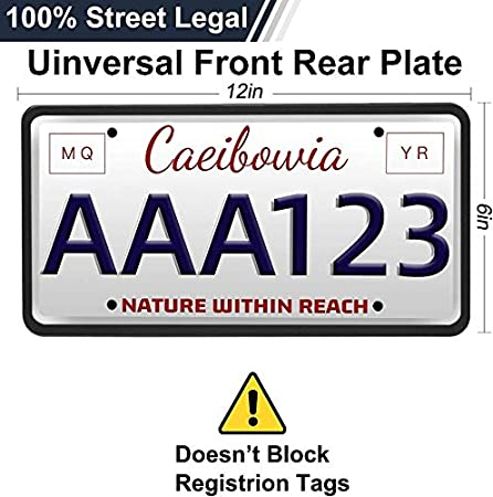 Uxinuo License Plate Frame Rust-Proof//Rattle-Proof//Weather-Proof with 3 Drainage Holes Universal American Auto License Plate Holder Black 2 Pack Black Silicone License Plate Frame Cover 1 Pack