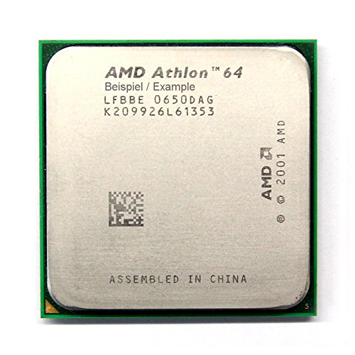 AMD Athlon 64 3000+ 2.0GHz/512KB Sockel/Socket 754 ADA3000AEP4AR CPU Processor (Generalüberholt)