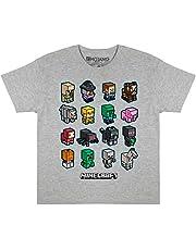 Popgear Minecraft Mini turbas Camiseta de los Muchachos   mercancía Oficial
