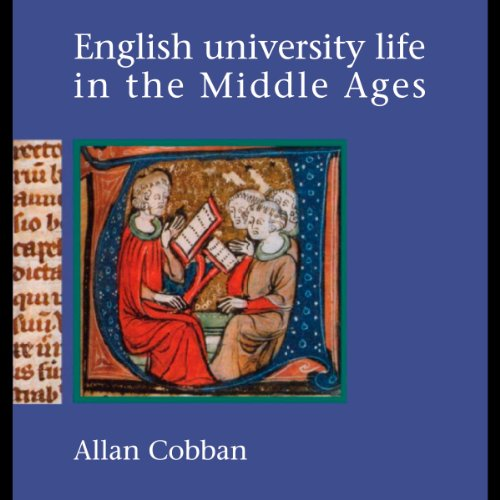 English University Life in the Middle Ages audiobook cover art