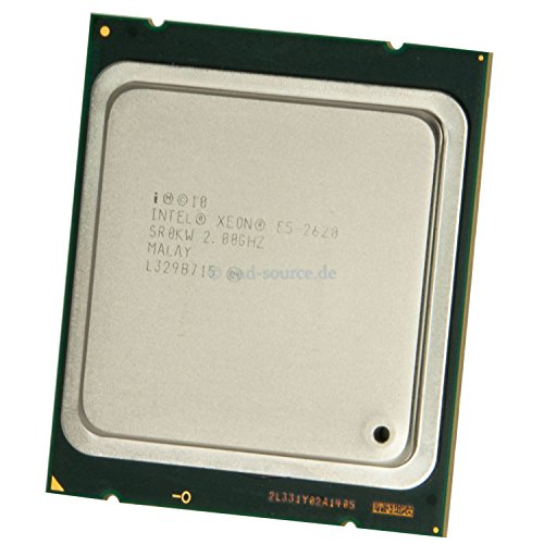 Intel Xeon E5-2620 Prozessor (2,0GHz, Sockel LGA2011, 15 MB Cache, 95 Watt)