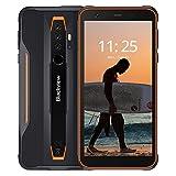 Blackview BV6300 Ultra Slim Outdoor Smartphone ohne Vertrag - 5,7 Zoll HD+ Bildschirm Android 10, 13MP Quad-Kamera mit Smart HDR, Octa-Core 3GB/32GB, 4380mAh Akku, Dual SIM Handy