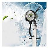 Ventilateur sur Pied Ventilateurs de Refroidissement sur Pied Ventilateur de nébuliseur Permanent Ventilateur oscillant de la Tour rotative 3 Vitesses Refroidisseur d'air par évaporation pour Le Gym