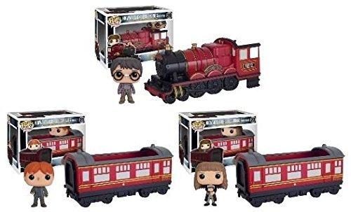 Funko POP! Rides Harry Potter: Hogwarts Express Harry Potter + Ron Weasley + Hermione Granger