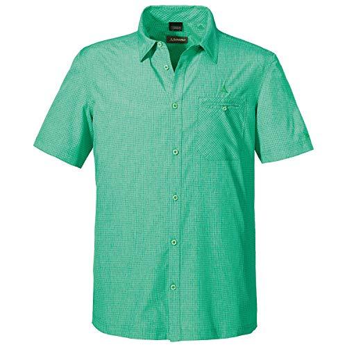 Schöffel Bregenzerwald T-Shirt Homme Island Green FR: XL (Taille Fabricant: 56)