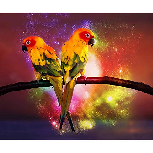 Fantasy Parrot Jigsaw Puzzle-1000 Pieces Children's Jigsaw Puzzle-Adult Leisure and Entertainment DIY Jigsaw Puzzle Game