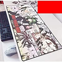 拡張ゲーミングマウスパッド1パンチマン大型マウスマットキーボードマットコンピュータデスクトップ用延長マウスパッド PC.ラップトップマウスパッド(カラー:M、サイズ:700x300x3mm)