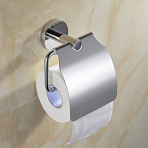 Lonfenner Classic 304 Acciaio Inossidabile WC Porta Rotolo Porta-Carta igienica Asciugamani di Carta alberghi di Progetto