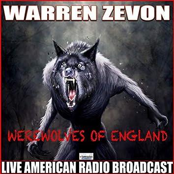 Werewolves Of England (Live)