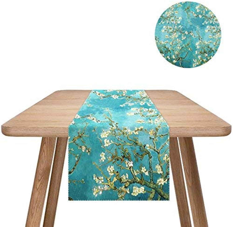 Mejor precio Mantel de algodón y Lino Van Van Van Gogh 's Pinturas Rectangle Kids' Fiesta Sala de EEstrella Cocina 33  150cm (Color  Style1, Tamaño  33  200cm)  compra en línea hoy