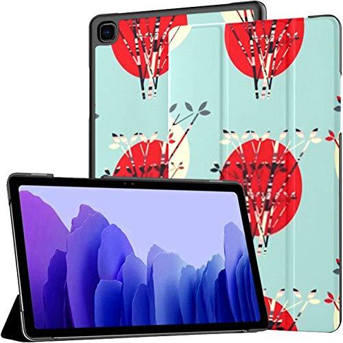 Funda para Tableta Samsung A7 Moons Suns Behind Trees Funda de patrón sin Costuras para Samsung Galaxy Tab A7 10,4 Pulgadas Funda Protectora de liberación 2020 Funda Samsung Galaxy A7 Funda para Tabl