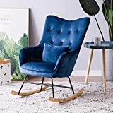 LJQLXJ divano Single Sofa Reclining Chair Rocking Chair Carefree Chair Living Room Balcony Leisure Chair Napping Chair,Same as picture6