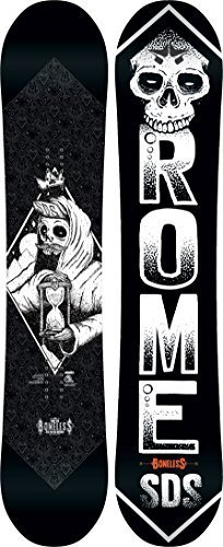 Rome Boneless Midwide Snowboard 150 Mens by Rome