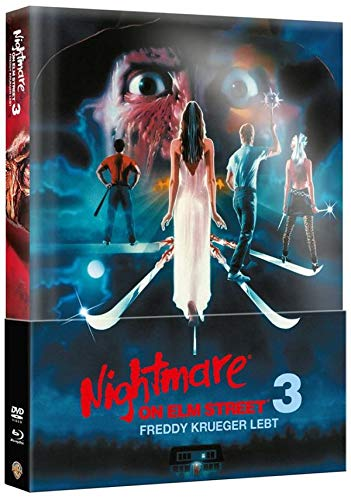 Nightmare on Elm Street 3 - Freddy Krüger lebt - Mediabook - Limitierte Special Edition  (+ DVD) [Blu-ray]
