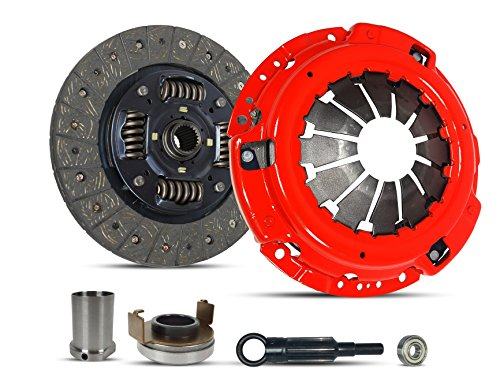 Clutch Kit And Sleeve Repair compatible with Impreza Turbo Wrx Limited Premium Sedan Wagon Xt Tr 2006-2011 2.5L H4 GAS DOHC Turbocharged (Ej255; 5 Speed; Stage 1)
