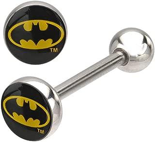 DC Comics Batman 316L Surgical Steel Barbell 14g