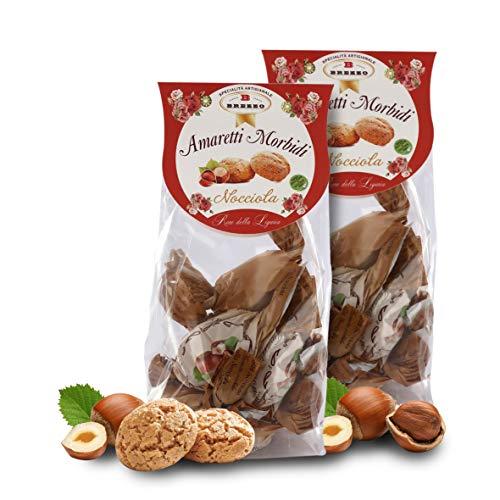 Amaretti Sabor Avellana - Galletas Italianas de Almendra - 150 Gramos (Paquete de 2 Piezas)