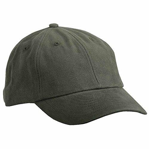 MYRTLE BEACH - Casquette visière Unie 6 Panneaux Coton - MB6111 - Vert Olive - Mixte Adulte