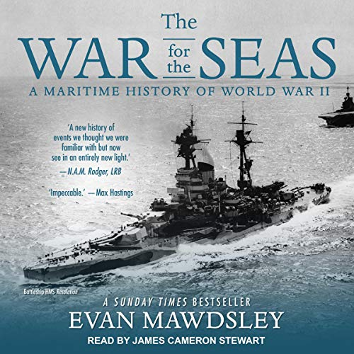 The War for the Seas audiobook cover art