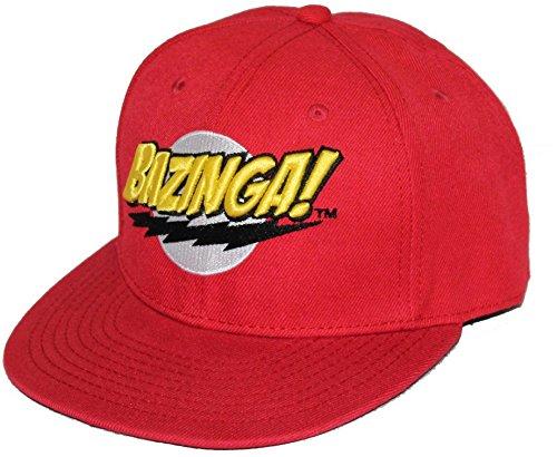 The Big Bang Theory - Logo Bazinga! Cap - Red