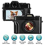 Digital Camera vlogging camera video camera 2.7K 30FPS 30.0MP 3.0 Inch Flip Screen