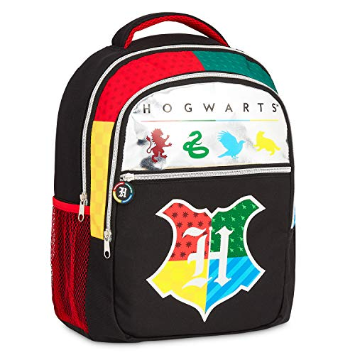 Harry Potter Schulrucksack Jungen, Rucksack Kinder mit Hogwarts Design, Große Kapazität Rucksack Mädchen Teenager, Kindergartenrucksack Jungen, Harry Potter Fanartikel
