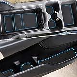 Auovo Door Cup Console Liners Inserts for Honda CR-V CRV 2020 Custom Mats Interior Accessories(20-pcs Set, Blue Trim)