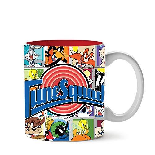 Silver Buffalo Space Jam Looney Tune Squad Ceramic Mug, 20-Ounce, Multicolored