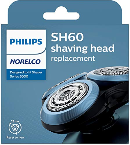 Philips Norelco Replacement Head for Series 6000 Shavers, Black, 1 Count
